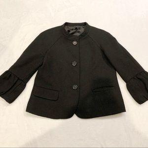 Talbots | Swing Blazer Coat Puff Sleeves 8P